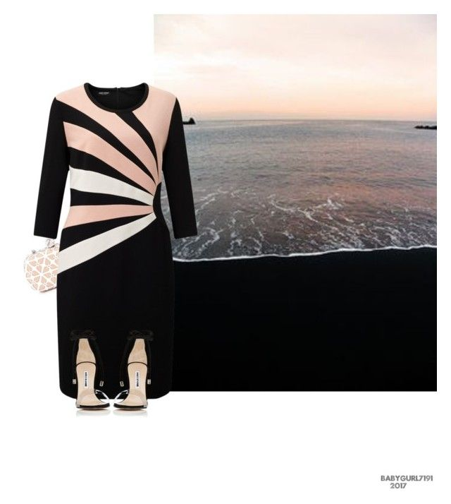 """""""Beach Series 2/5- Sand #4"""" by babygurl7191 ❤ liked on Polyvore featuring Alexander McQueen, Gerry Weber and Manolo Blahnik"""
