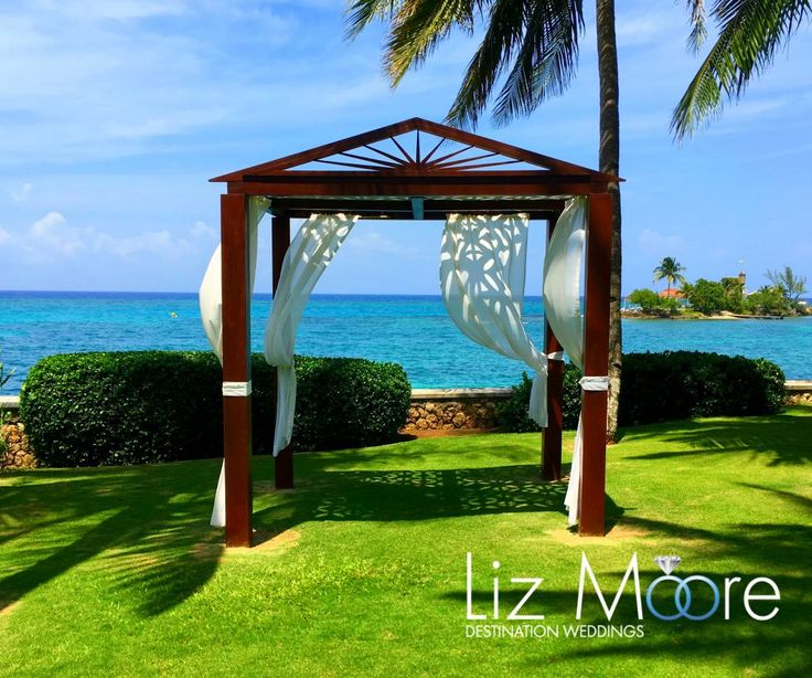 Jamaica Wedding Gazebos #jamaica #weddinggazebos #weddingideas #weddingceremony