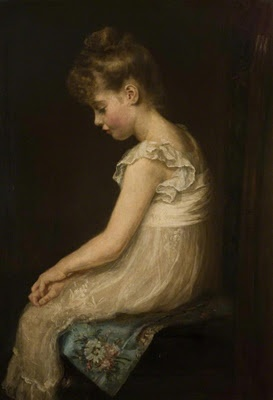 John Everett Millais - Meditation 1879
