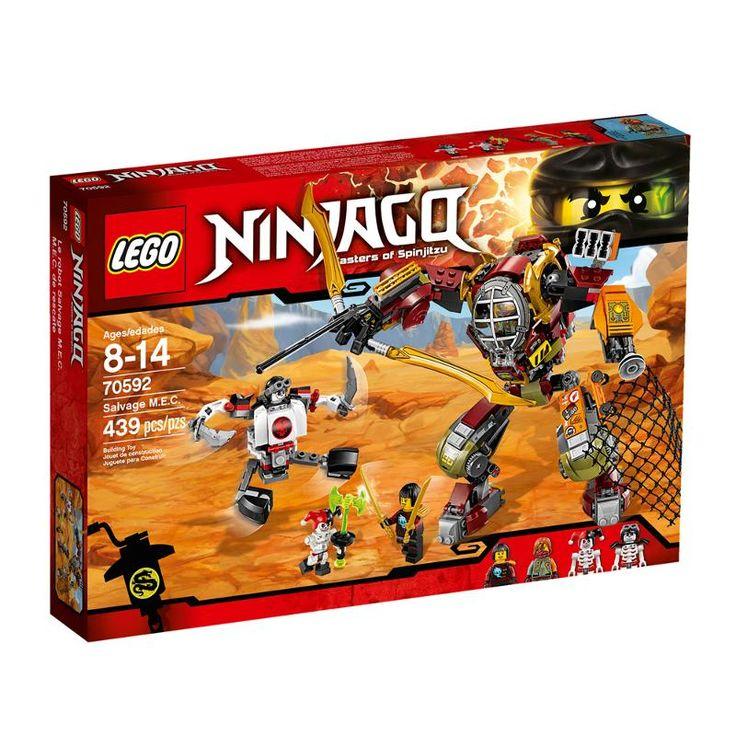 Lego Ninjago 70592 Робот-спасатель
