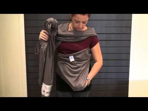 How To Assemble A Wrap Carrier | Snuggle Bugz YouTube