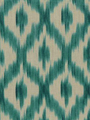 Turquoise+Ikat+Fabric++Modern+Upholstery+by+greenapplefabrics,