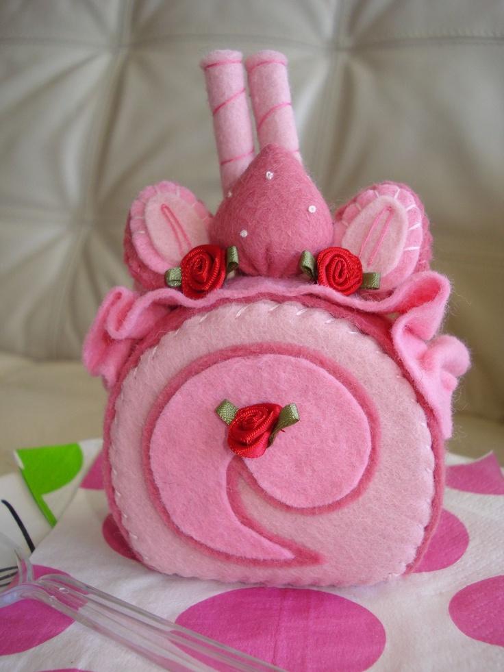 Strawberry Short Cake Felt