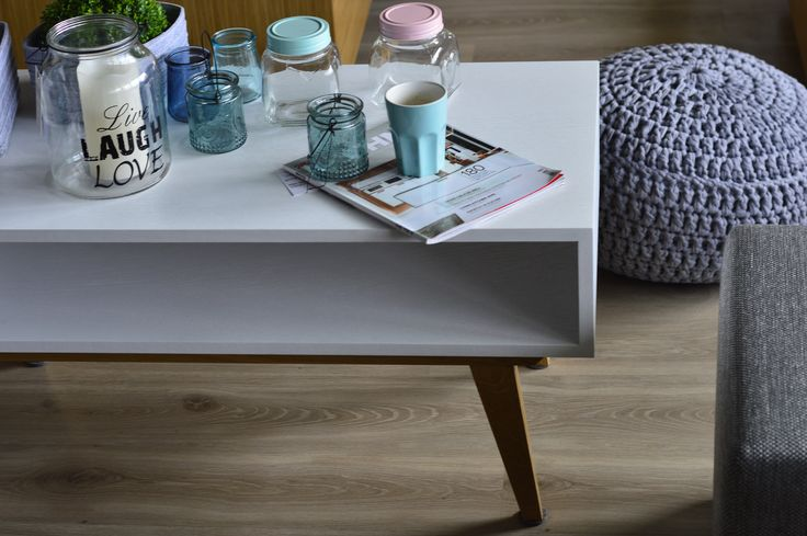 a coffee table, interior design