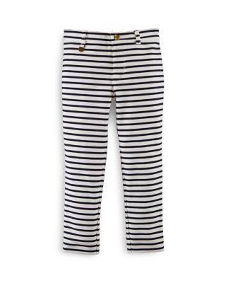 Ralph Lauren Childrenswear Girls' Stripe Slim Fit Pants - Sizes 2-6X | bloomingdales.com