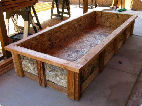 Diy grow bed for aquaponics system aquaponics for Aquaponics grow bed