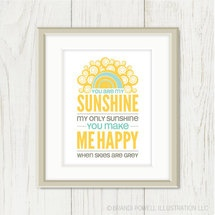 A favorite that gets me smiling and singing every single time I see it. :: print by sweetharvey, available on luvocracy