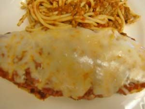Gluten Free Chicken Parmesan Recipe   Also gives recipe for GF Bread Crumbs (Seasoned and Plain)