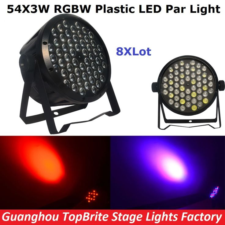 (277.02$)  Buy here - http://aiqyp.worlditems.win/all/product.php?id=32790467873 - 8Pcs/Lot Cheap Price 120W Led Par Lights 54X3W RGBW Led Flat Par Can Strobe Laser DMX DJ Disco Professional Stage Lights