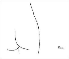 Three simple lines, yet one of my favorite Picasso sketches.