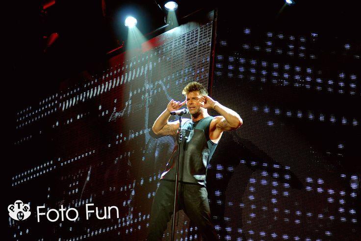 Ricky Martin in concert, Hamilton NZ. Photo from PT´s Foto Fun