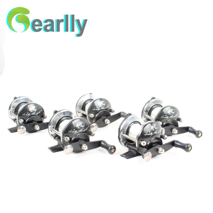 Gearlly Brand New Right Handed-Round Big-Game Saltwater Fishing Trolling Reels With-Line Trolling Carp Fishing
