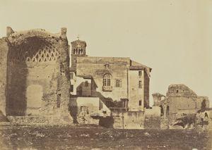 Temple of Venus & Rome, Rome, 1856 - 1859,