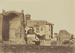 Temple of Venus & Rome, Rome, 1856 - 1859,