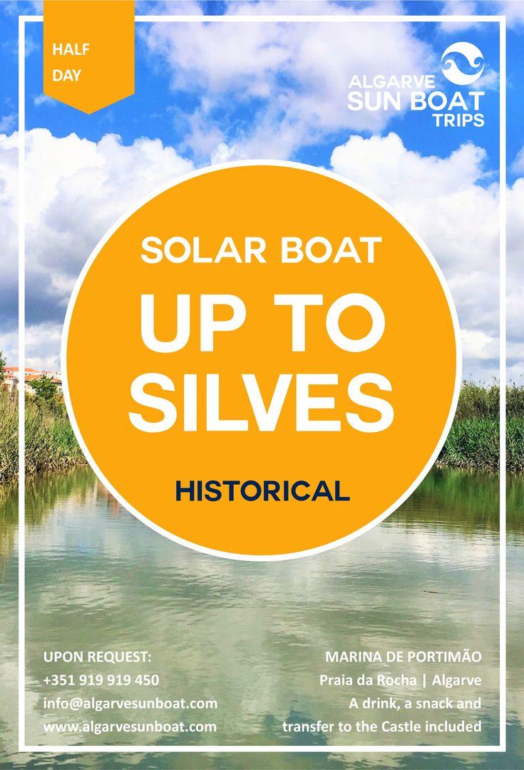 Please join us on an unforggetable solar boat trip on the Arade River from the Marina de Portimão to Silves! | #algarvesunboattrips #algarve #silves #arade #rioarade #passeiodebarco #araderiver #barcosolar #solarboat #barco #ecologico #sustentavel #sustentabilidade #boat #boating #silves #portimao #praiadarocha