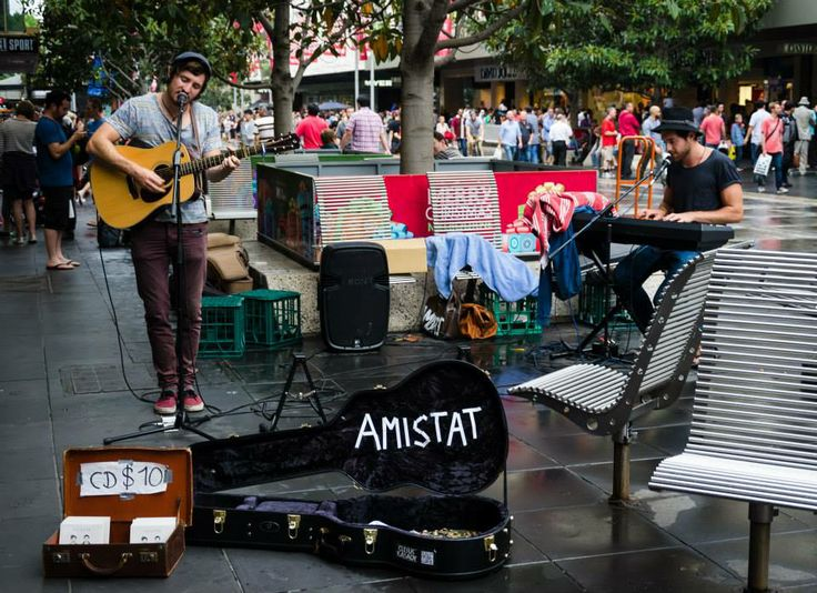 Amistat - supernal when singing The Beatles' songs. Melbourne