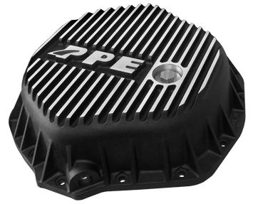 PPE Rear Differential Cover (03-15 Cummins/ 01-15 Duramax) Brushed Finish