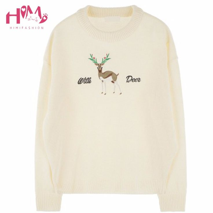 Little known ways to Discount 8% Original Price US $24.99 New Women Sweaters Christmas Reindeer Print Knitted Autumn Winter Sweater Deer Pullovers New Years Female Tops Wool Warm Sweater your business in 30 days #pullovers_sweaters
