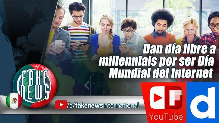 Dan día libre a millennials por ser Día Mundial del Internet