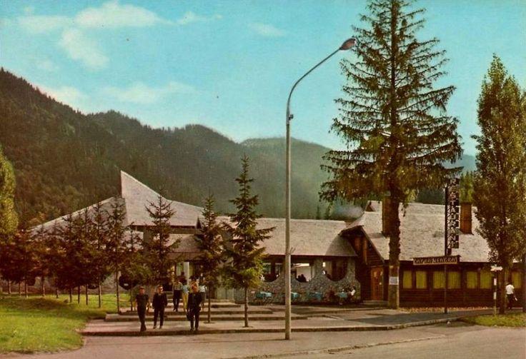 Poiana Brasov - Restaurant Capra Neagra - 1970s via Turism de Altadata https://www.facebook.com/Turism-De-Altadata-1452352131723305/?fref=photo