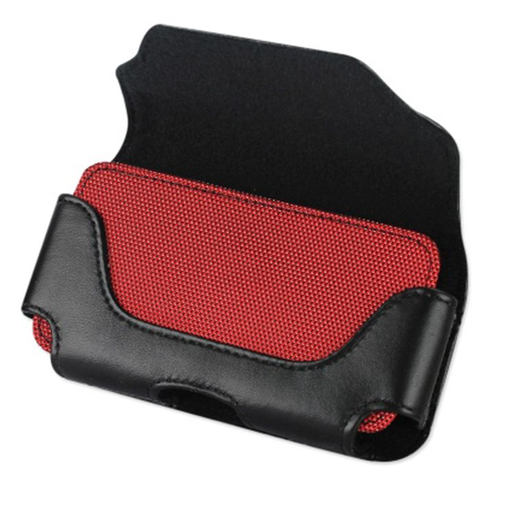 MOTOROLA MOTO G (2014) HOLSTER, HORIZONTAL POUCH INTERIOR RED BEE NEST PATTERN (PERFECT FITS WITH OTTERBOX COMMUTER / DEFENDER CASE ON LIFEPROOF CASE ON)   #cellphonegadgets #mobileaccessories www.kuteckusa.com