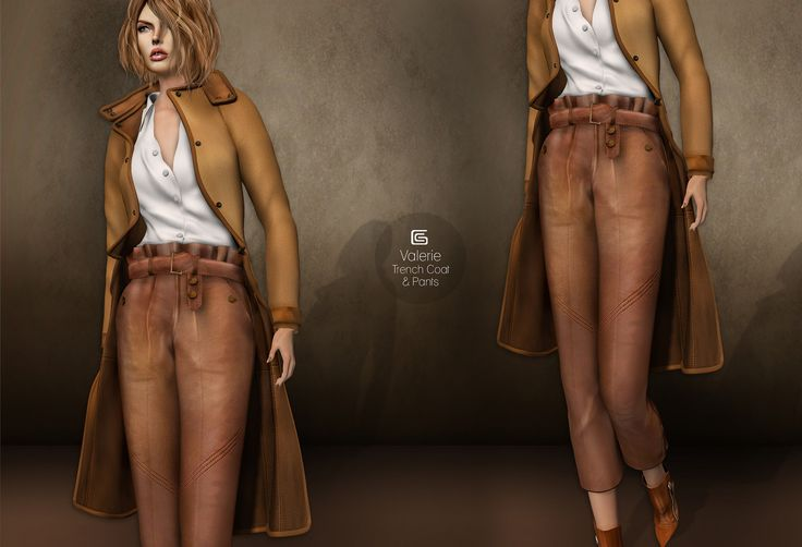 GizzA - Valerie Trench Coat and Cropped Pants | Flickr - Photo Sharing!