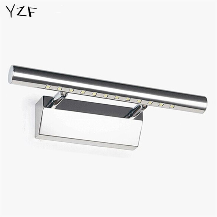 44.49$  Buy here - http://alieiy.shopchina.info/go.php?t=32609289412 - YZF New 7W Bathroom LED Mirror Light AC220V SMD5050 Mini Style Cool White LED modern Wall Lamps lampada de led wholesale 44.49$ #aliexpresschina