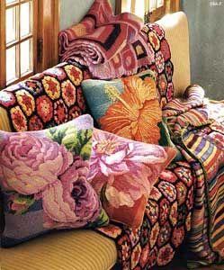 kaffe fassett pillows | Kaffe Fassett Studio : Archives
