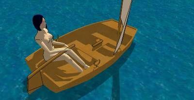 Onze boot lijkt een beetje op dit!
