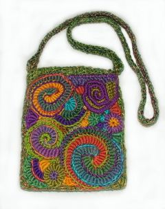 Patterns for small crocheted purses, often decorated with beads, were common in the first decade of the 20th century. Description from pinterest.com. I searched for this on bing.com/images