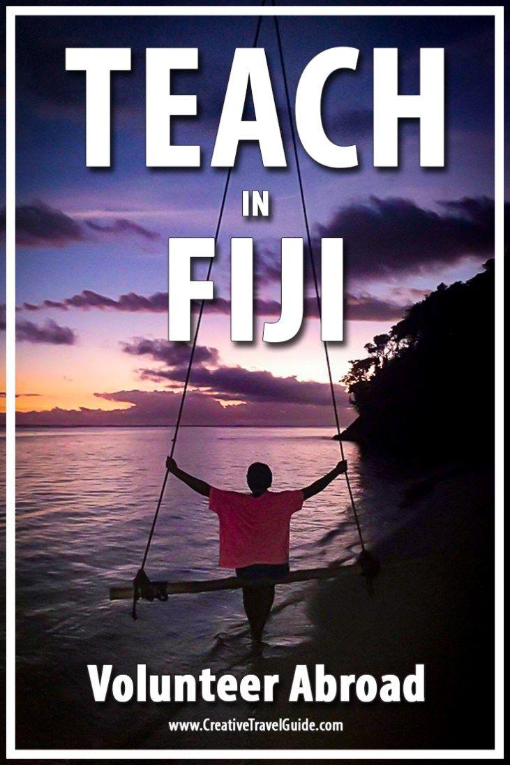 Volunteer Abroad – Teach In Fiji – Pin This!