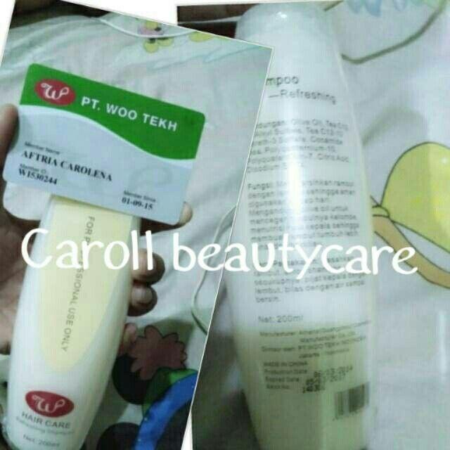Utk rambut rusak, berketombe atau maslah rambut lainnya silahkan coba shampoo refreshing Mina hub kami 0822.9891.2442