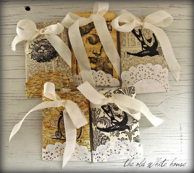 upcycled tp roll gift box