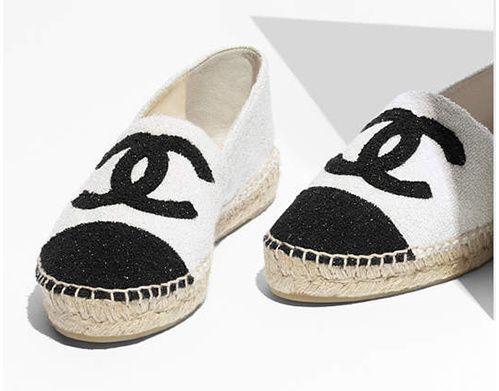 Chanel  Espadrilles en tissu