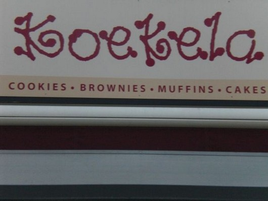 Koekela has got the best cakes and cookies in town and I dare say, maybe even the country!    And now they've moved a couple of shops up the road to a bigger place where you can also sit and enjoy their goodness.    For muffins or cupcakes I'd suggest going a bit further to Alice in Cakeland (check the article), but stay in for the cookies and brownies! Don't want to go out? They have a webshop!