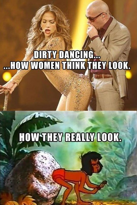 How women think they look - funny pictures #funnypictures