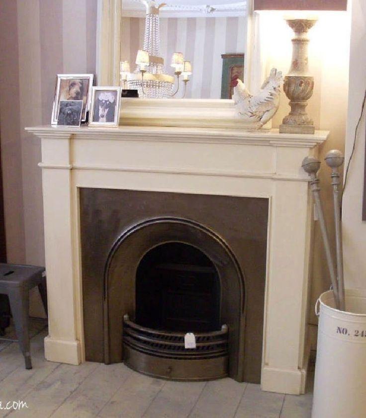 M s de 25 ideas incre bles sobre chimenea blanca en - Chimenea blanca decorativa ...