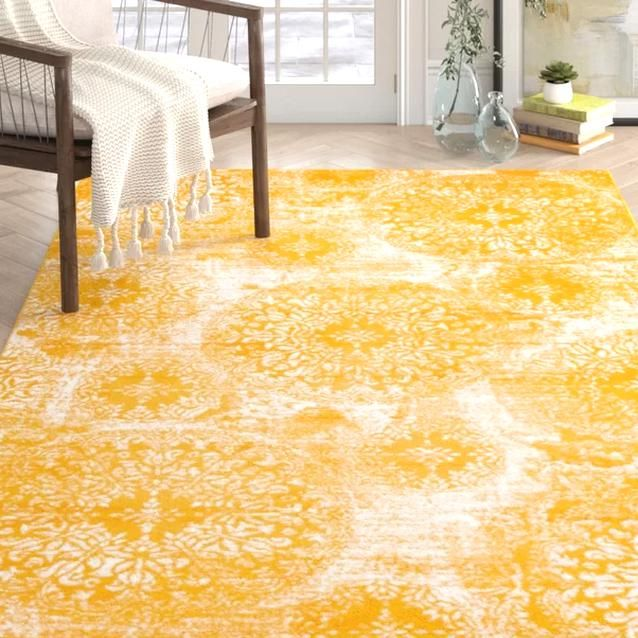 Pin By Yesenia Autumn On My Collections In 2020 Yellow Area Rugs Area Rugs Rugs