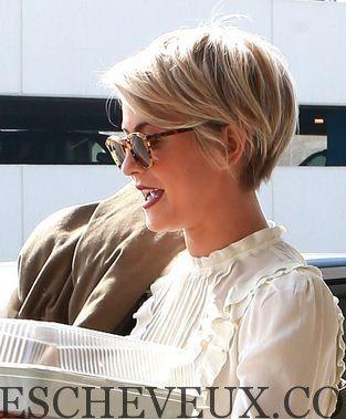 Coiffures pour les cheveux blonds raides