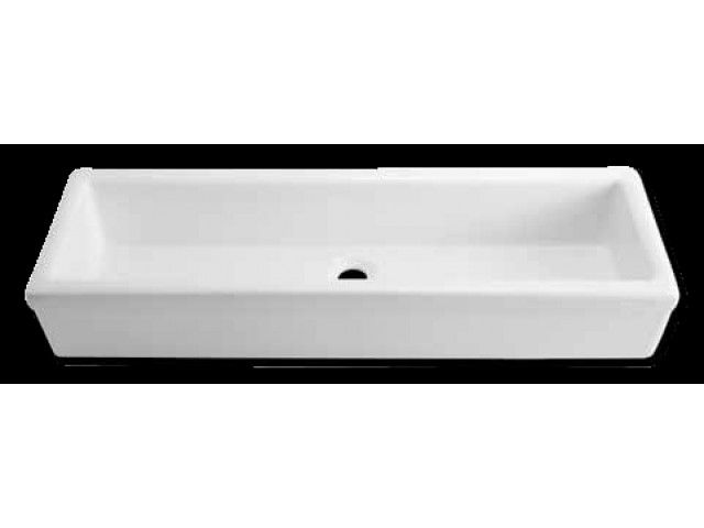 white trough sink Ablution Sink y-INTERIORS-BATHROOMS Pinterest