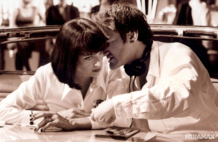 Pulp fiction. Behind the scenes.