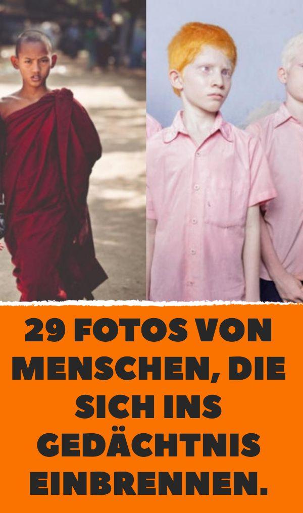 29 Fotos von Menschen, die sich ins Gedächtnis einbrennen.