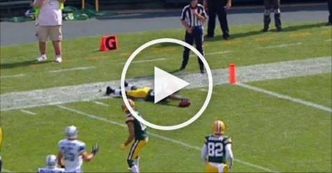 Packers Kick Returner Ty Montgomery Exploits Loophole In NFL Rulebook to His Advantage (Video)