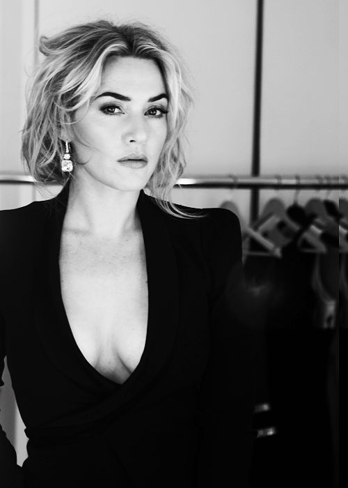 Kate Winslet, for Elle China (Photography by Gilles Bensimon) | 2012