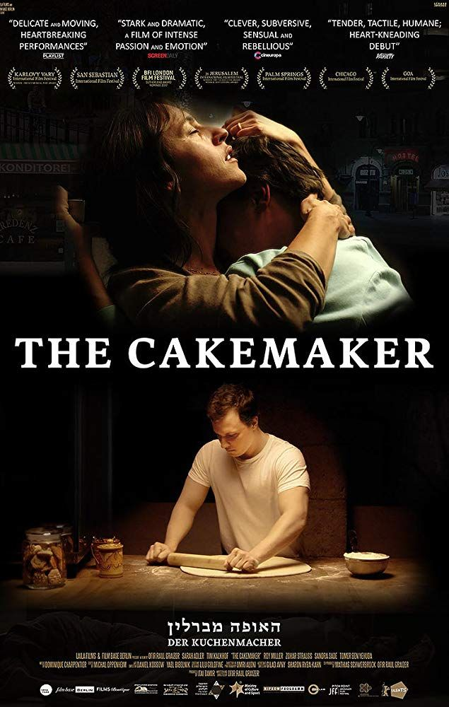 [Movie 122] The Cakemaker (2017) Director: Ofir Raul Graizer in 2019 | Movie posters, Movies, Film movie