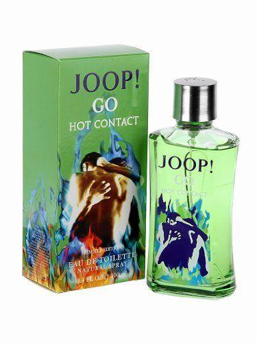 JOOP! GO HOT CONTACT by Joop! for MEN: EDT SPRAY 3.4 OZ (LIMITED EDITION) by JOOP! GO HOT CONTACT. $31.99. Fragrance Notes: cedar, saffron, limette, mint, lavender, vetiver, licorice. Design House: Joop!. JOOP! GO HOT CONTACT by Joop! for MEN EDT SPRAY 3.4 OZ (LIMITED EDITION) Launched by the design house of Joop! in 2010, JOOP! GO HOT CONTACT by Joop! possesses a blend of cedar, saffron, limette, mint, lavender, vetiver, licorice. Save 47%!