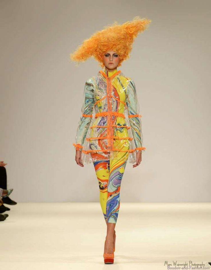 Sculptural Space-Age Couture : ILJA Spring 2013