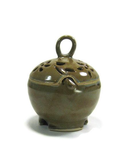 Ceramic Box  Garlic Jar  Jewelry Box  Stoneware by GlyntPottery, $32.00