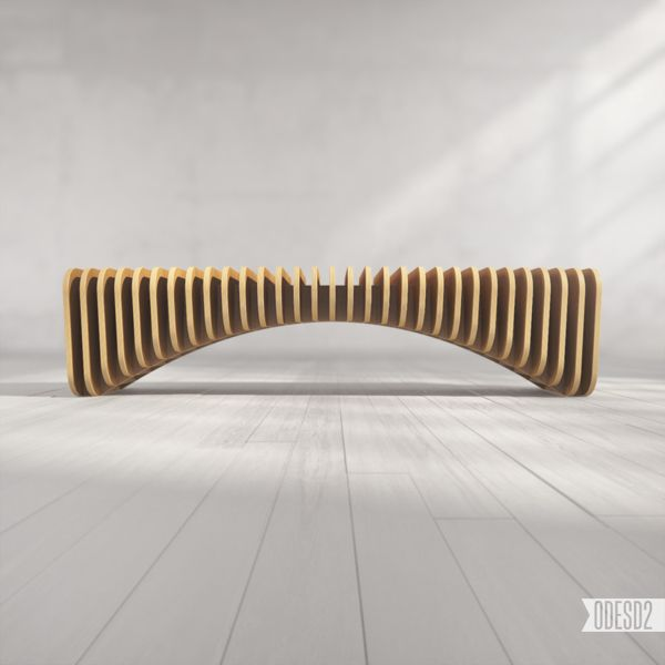 B1 Bench by ODESD2, via Behance