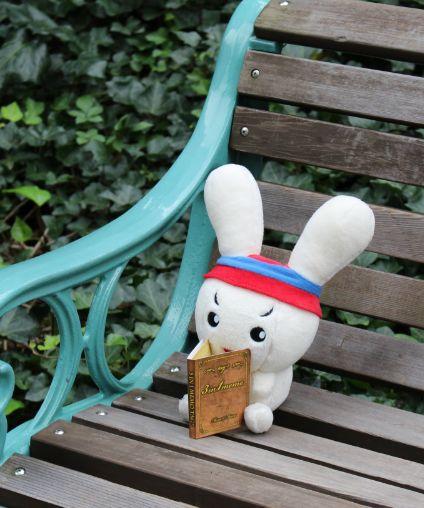 gooサンクスチーム @goo_thanks おはようございます!ぐっぴょんです…いえ、とくちゃんです(笑) 読書の秋ですな~ (●´v`人) 何かオススメの本がありましたら教えてください♪  本日もよろしくです! 〔写真:ぐっぴょん by キッズ goo〕#キッズgoo https://twitter.com/goo_thanks/status/522190334692831232